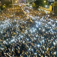Cele mai impresionante imagini de la protestele din Hong Kong