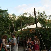 Cronici Terase din Romania - Gradina Eden - un colt de rai in spatele Palatului Stirbei