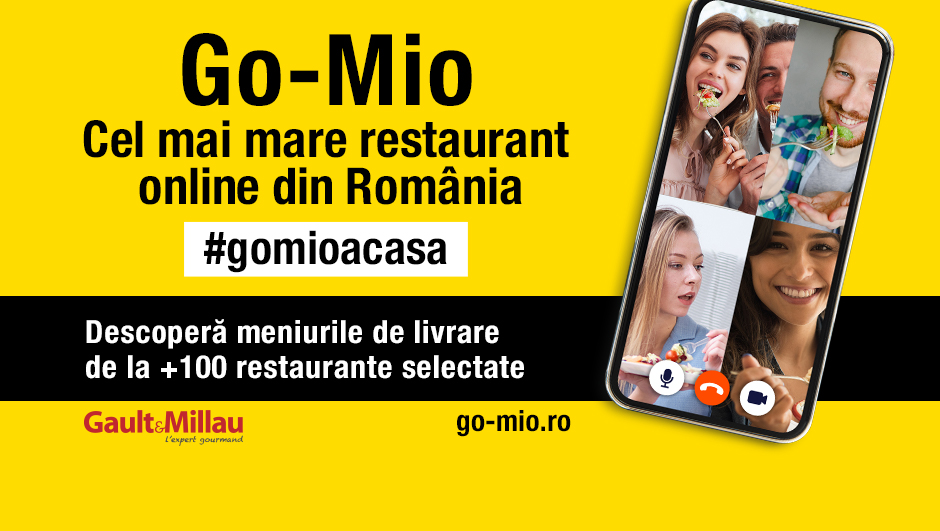 GAULT&MILLAU deschide cel mai mare restaurant online din România
