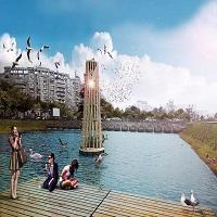 Proiect de amploare in Bucuresti: reamenajarea Dambovitei si amplasarea unui far urban in centrul orasului