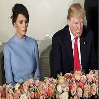La zi pe Metropotam - Gif-urile si fotografiile care ne arata cat de trista a fost Melania Trump la inaugurare