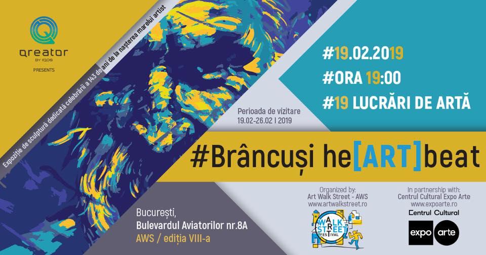 AWS-Brâncuşi he[ART]beat- Ediţia 4 are loc între19-26 februarie 2019