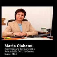 Ambasadoarea Romaniei la ONU, discurs care ne face tara de ras