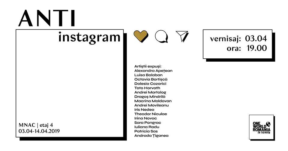 ANTI-instagram | Vernisaj | Concert Generația 99 | Rek Abu