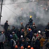 Societate - 10 lucruri pe care trebuie sa le stii despre protestele violente din Ucraina