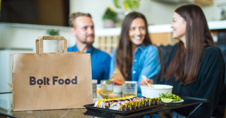 S-a lansat Bolt Food- serviciu de livrare de mâncare la domiciliu