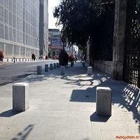 Utile - Lucrarile la trotuarele de pe Calea Victoriei, efectuate ilegal de Primaria Bucuresti