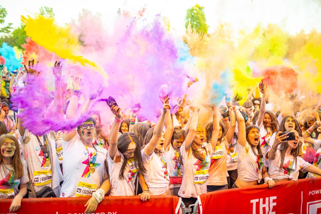 The Color Run Love Tour va avea loc pe 20 aprilie