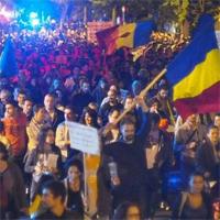 A 22-a zi de proteste in Bucuresti cu 22.000 de protestatari