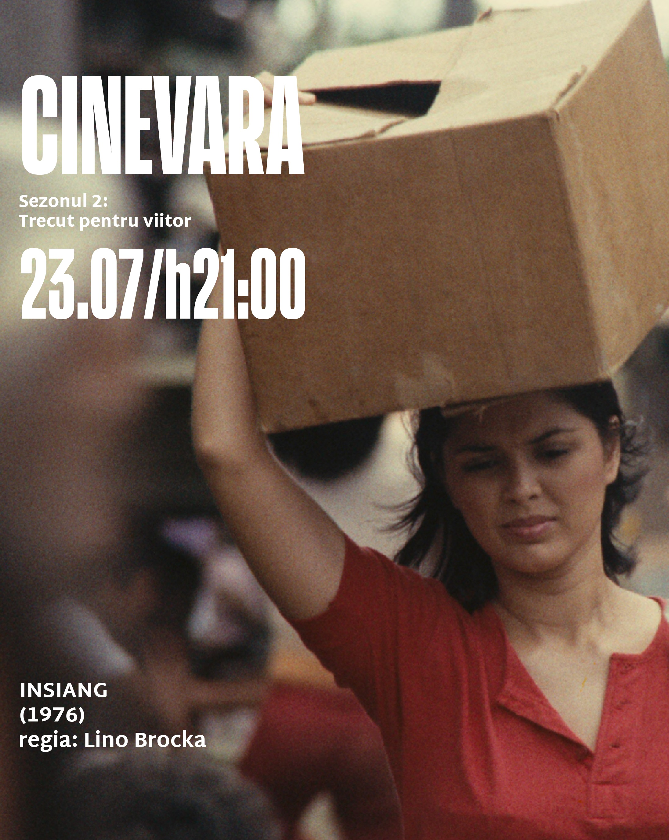 CINEVARA continua seria de proiectii de film in aer liber cu Insiang