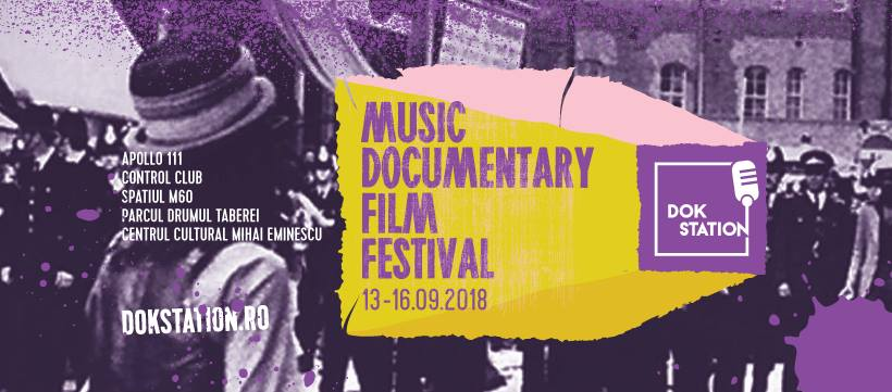 La zi pe Metropotam - A treia ediție DokStation Music Documentary Film Festival va avea loc între 13-16 septembrie