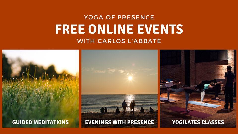 Yoga of Presence curs gratuit online ținut de Carlos L'Abbate