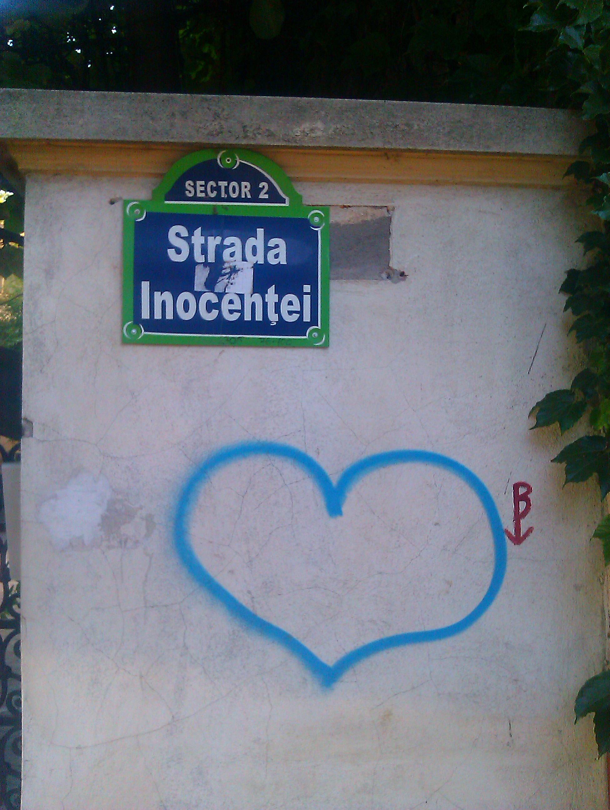 I <3 Bucuresti: Strazi cu nume amuzante si interesante