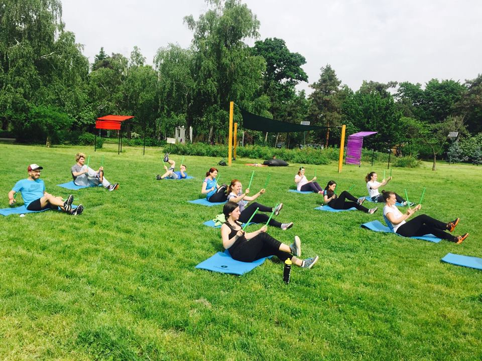 Social Gym in the Park! Sport la firul ierbii la Roaba de Cultura