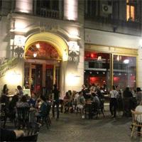 Cronici Restaurante din Bucuresti, Romania - Bazaar - terasa pastel din Centrul Vechi
