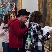 La zi pe Metropotam - Am fost la vanatoare de scrisori si mistere la Muzeul National de Arta