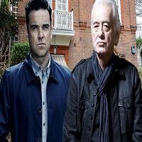 Disputa intre vecini celebri: Robbie Williams se cearta cu Jimmy Page din cauza bormasinilor