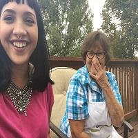 La zi pe Metropotam - Bunica geniala care trimite in fiecare zi un selfie nepoatei sale -pozele iti vor face ziua mai frumoasa