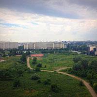 Terasa MNAC - spatiul boem de unde poti admira Bucurestiul de la inaltime
