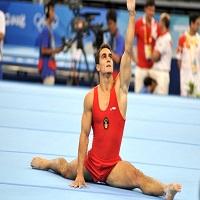Marian Dragulescu a castigat medalia de argint la Campionatele Europene de gimnastica de la Berna