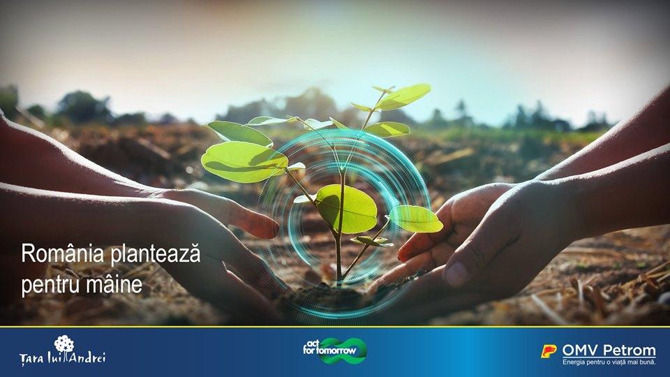 La zi pe Metropotam - România plantează pentru mâine 15.000 de puieți lângă București