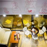 Cronici Cafenele din Bucuresti, Romania - Cafe Matrioska - locul cochet de pe Luterana cu mancare sanatoasa si cafea ieftina