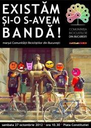 Existam si-o s-avem banda! sau protestul biciclistilor din 27 octombrie