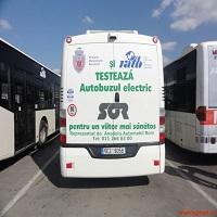 Utile - Fotografii de la o plimbare cu primul autobuz electric din Bucuresti