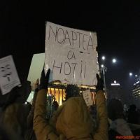 La zi pe Metropotam - Muzeul Satului va organiza o expozitie in aer liber cu pancartele de la proteste