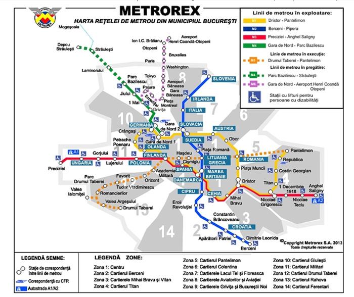 Ce Nume Vor Purta Statiile De Metrou Din Bucuresti De Ziua Europei