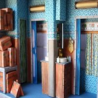 La zi pe Metropotam - Artista spaniola care recreeaza lumea lui Wes Anderson si a lui Brancusi in miniatura
