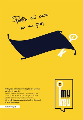 MyKey - primul serviciu de pastrare si livrare chei de rezerva din Romania