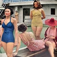 Evolutia costumului de baie de-a lungul timpului (P)