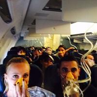 La zi pe Metropotam - Momente de panica la bordul unei curse Blue Air: avionul s-a depresurizat si mastile de oxigen au cazut