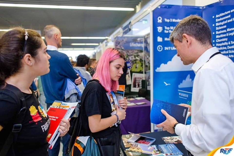 La zi pe Metropotam - RIUF București | Romanian International University Fair