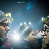 La zi pe Metropotam - Cum ar fi daca zeci de mii de oameni ar protesta in tacere in aceasta seara - un video impresionant de Andrei Gheorghe