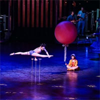 Cronica: Quidam - Cirque du Soleil un spectacol care combina vizualul, muzica live si acrobatiile intr-un numar teatral