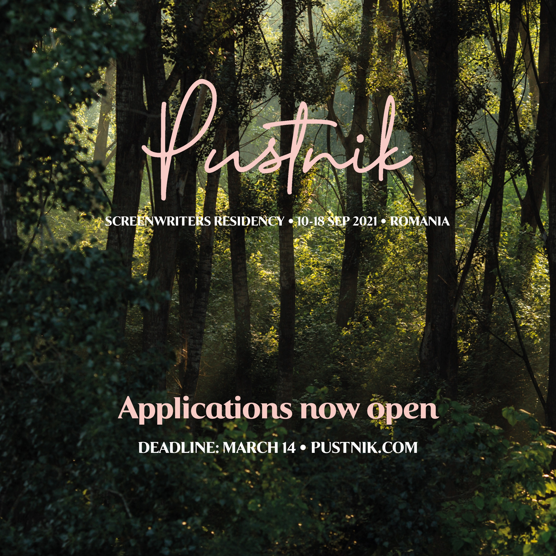S-au deschis înscrierile pentru ediția 2021 a rezidenței de scenaristică Pustnik