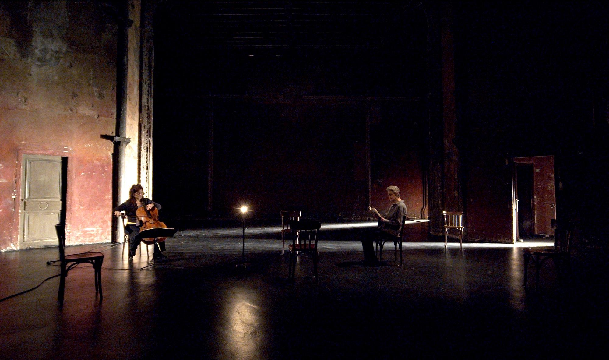 Charlotte Rampling & Sonia Wieder-Atherton, spectacol în premieră mondială la Festivalul Internațional de Teatru de la Sibiu