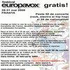Concursuri - Castiga o excursie la festivalul EuropaVox din Franta [inchis]