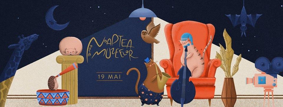 Noaptea Muzeelor 2018- Program și hartă