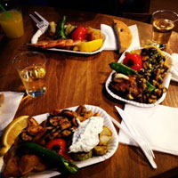 Cronici Restaurante din Romania - Marin seafoodgrill - locul din Centrul Vechi unde mananci fructe de mare proaspete si ieftine sau alternativa shaormei de la 12 noaptea