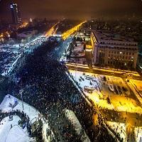 Puterea oamenilor iesiti in strada la protestul din 22 ianuarie 2017 - imagini semnate Cristian Vasile si Dan Mihai Balanescu