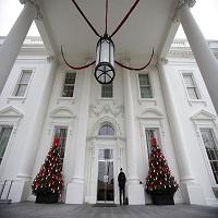 La zi pe Metropotam - Cum arata ultimele decoratiuni de Craciun de la Casa Alba pregatite de Michelle Obama