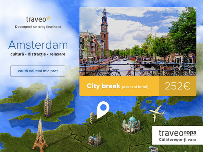 Cateva motive pentru a vizita si revizita Amsterdamul