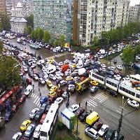 Utile - 18 accidente in ultimele 24 de ore, in Bucuresti. Ce ne recomanda Politia Capitalei
