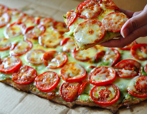 Unde mancam pizza in Centrul Vechi