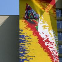 I love Bucuresti - I <3 Bucuresti: Cel mai colorat bloc oras