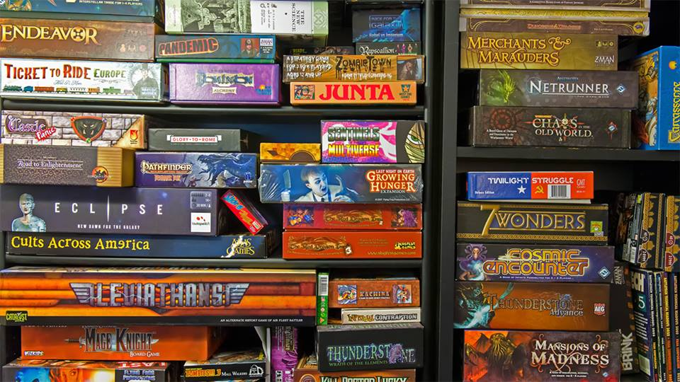 La zi pe Metropotam - Board Games Garage Sale