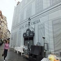 Locuri de vizitat - Povestea Hotelului Concordia, locul unde s-a hotarat Unirea Principatelor Romane - pe vremuri era o bijuterie, acum e inca o ruina din Centrul Vechi